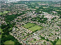 SJ8588 : Cheadle from the air by Thomas Nugent