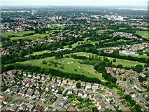 SJ8487 : Gatley Golf Course from the air by Thomas Nugent