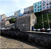 SN1300 : Tenby Sea Cadets building, Tenby Harbour by Jaggery