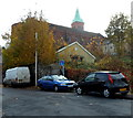 ST6071 : Church spire viewed from Goolden Street, Totterdown, Bristol by Jaggery