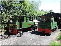 SS6846 : Lynton & Barnstaple Railway: by the locomotive shed by Martin Bodman