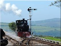 SS6846 : Lynton & Barnstaple Railway: 'Isaac' at Woody Bay by Martin Bodman