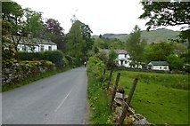 NY3204 : Entering Elterwater by DS Pugh