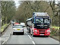 NN7102 : HGV on the A84 near Doune by David Dixon