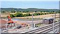 SK1905 : Widening West Coast Main Line near Tamworth, 2006 by Ben Brooksbank
