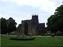 SJ9223 : The Collegiate Church of St. Mary, Stafford by Chris Whippet