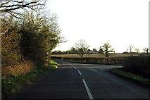 SP4111 : Cuckoo Lane runs off this rural road by Steve Daniels
