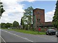 SP3093 : Former pithead baths, Ansley Hall Colliery by Alan Murray-Rust