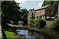 SH5948 : Bridge at Beddgelert, Gwynedd by Peter Trimming