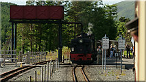 SH5752 : Arriving at Rhyd Ddu by Peter Trimming