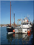 NT6779 : Coastal East Lothian : Marean And Pegasus At Victoria Harbour, Dunbar by Richard West