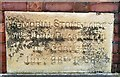 SJ9593 : Memorial Stone at Gee Cross Methodists by Gerald England