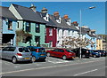 SM9515 : Colourful Merlin's Hill houses in Haverfordwest by Jaggery
