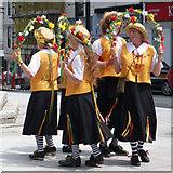 SX3384 : Launceston Dancers by Paul Loft