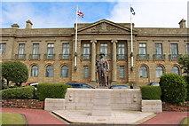 NS3321 : War Memorial, Ayr by Billy McCrorie