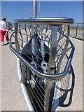 SH9980 : Part of lift mechanism Pont y Ddraig (Dragon's Bridge) by Richard Hoare