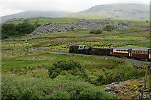 SH5752 : Welsh Highland Railway by Peter Trimming