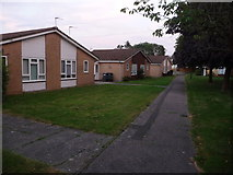 SZ0796 : Northbourne: Dudley Gardens bungalows by Chris Downer
