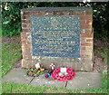 TG1527 : RAF memorial in Oulton Street by Evelyn Simak