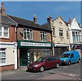 SY6879 : Stockting Funeral Service premises in Weymouth by Jaggery