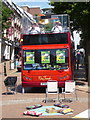SZ0891 : Bournemouth: a brass band on a double-decker bus by Chris Downer