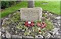 SJ9593 : Big Tree Memorial Stone by Gerald England