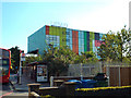 TQ3476 : North side of Peckham Library seen from Peckham Hill Street by Robin Stott