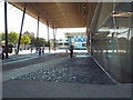 TQ3476 : Peckham Square: public space around and under Peckham Library by Robin Stott