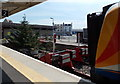 SY6779 : Buffers at the end of the line, Weymouth by Jaggery