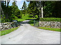 NR5370 : The entrance to Forest Lodge on Jura by Gordon Brown