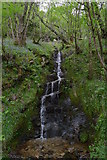 NN3303 : Waterfall by the West Highland Way by Tim Heaton