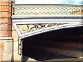 TQ3377 : Spandrel and balustrade, Hill Street Bridge by Robin Stott
