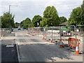 SK5738 : Tramway crossing on Robin Hood Way by Alan Murray-Rust