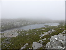 NC1720 : Lochan at cloud base by Sally