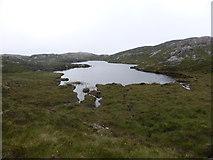 NC1821 : East bay of a remote lochan by Sally