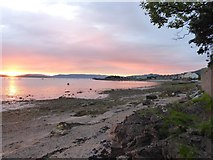 NS2055 : Sunset at Fairlie Beach by Sally