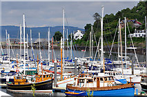 NR8668 : Tarbert Harbour by Stuart Wilding