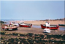 SS2006 : Boats on the Beach, Bude Haven by Des Blenkinsopp