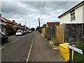 TL8741 : Jubilee Road, Sudbury by Adrian Cable