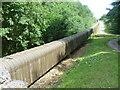 TQ7020 : Conveyor belt for gypsum in Darwell Wood by Marathon