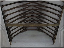 TL9925 : St. Martin's Church, West Stockwell Street, CO1 - nave roof by Mike Quinn