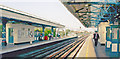 TQ2178 : Turnham Green Station, view east 2006 by Ben Brooksbank