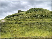 NZ2377 : Northumberlandia, Head and Face in Profile by David Dixon