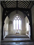 TL9925 : St. Martin's Church, West Stockwell Street, CO1 - chancel arch by Mike Quinn