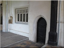 TL9925 : St. Martin's Church, West Stockwell Street, CO1 - chancel, north wall by Mike Quinn