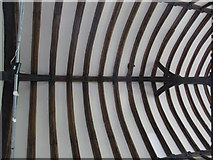 TL9925 : St. Martin's Church, West Stockwell Street, CO1 - chancel roof by Mike Quinn