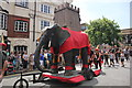 SJ4066 : The Chester Elephant in the Midsummer Watch Parade by Jeff Buck