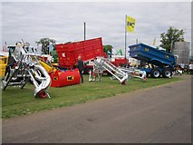 NT1472 : Contraptions and trailers on display at the Royal Highland Show by Graham Robson