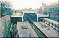 TQ0584 : Uxbridge Station, 1978 by Ben Brooksbank