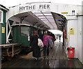 SU4208 : Hythe Pier, rail terminus by Stephen Craven
